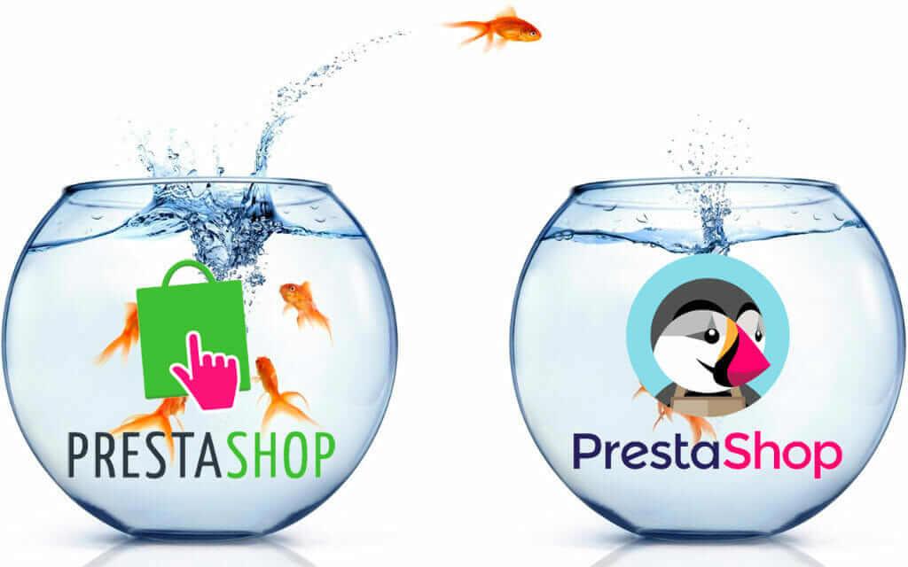 Actualizar manualmente Prestashop 1.6 a 1.7